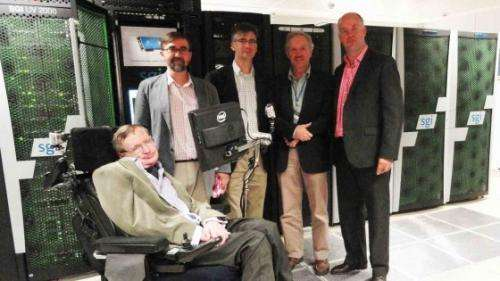 Hawking launches supercomputer