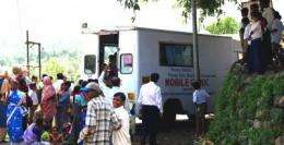 Health project in India saved many mothers and children