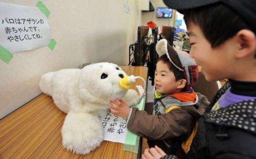 High-tech fluffy seals are the latest weapon in the battle against depression for survivors of Japan's tsunami disaster