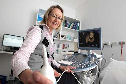 How ultrasound can help judge fat risk for pregnant mums