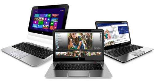 HP unveils innovative multitouch hybrid PC and ultrabooks