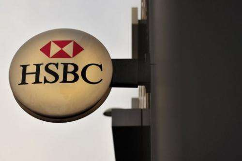 "HSBC said in a statement that HSBC servers came under a ""large scale denial of service attack"""