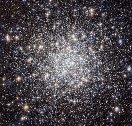 Hubble Captures a Collection of Ancient Stars