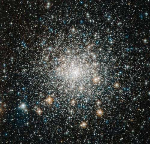 Hubble Sees Messier 70: Tight and Bright