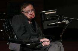 """I had a bet ... that the Higgs particle wouldn't be found. It seems I have just lost $100,"" Hawking said"