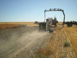 Improving air quality with no-till cropping