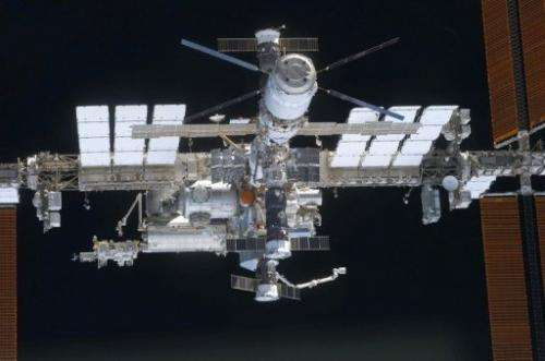 In case your back is turned, NASA will alert you when the space station is close
