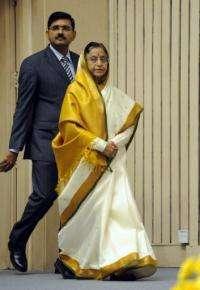 Indian President Pratibha Patil