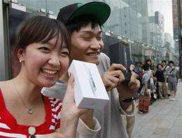 iPhone 5 launch draws Apple fans across Asia