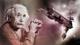 It's Einstein versus Newton again