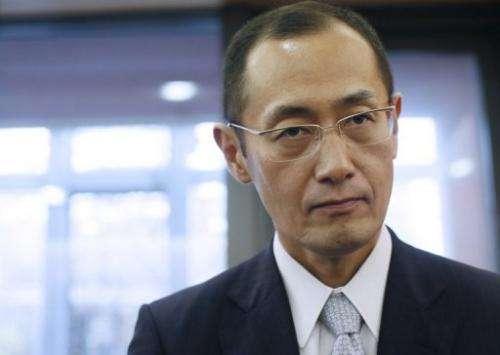 Japanese Kyoto University professor Shinya Yamanaka
