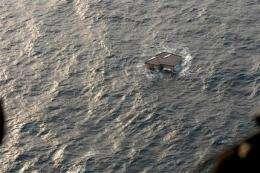 Japan tsunami debris spreading across Pacific (AP)