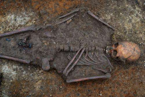 Skeleton found near Cambridge evidence of first Christian burial in England