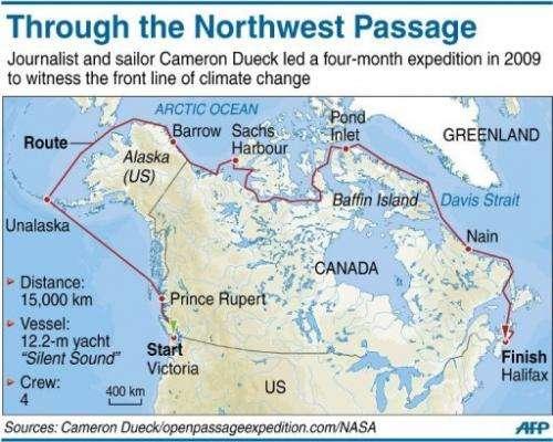 Journey through the Northwest Passage