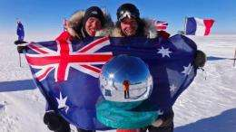 Justin Jones and James Castrission have made Antarctic history