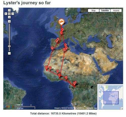 British ornithologists track cuckoo birds migration route