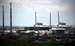 Kozloduy supplies about 30 percent of Bulgaria's power.