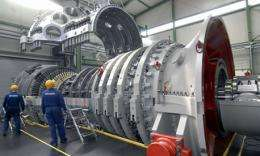 Lausward power plant to break three world records