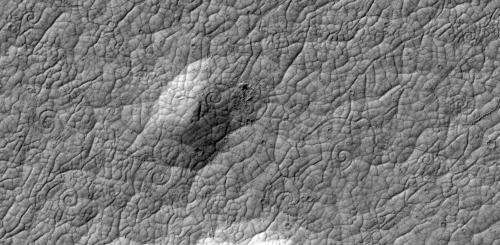 New form of Mars lava flow dicovered