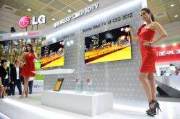 LG and Samsung are set to begin sales of the OLED TVs in the latter half of this year