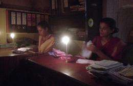 Limited power outages are extremely common across India, which runs a peak-hour power deficit of around 12 percent