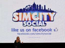 "Lucy Bradshaw GM of Maxis presents ""Simcity Social"" for Facebook"