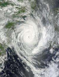 Major Tropical Cyclone Funso analyzed by 2 NASA satellites