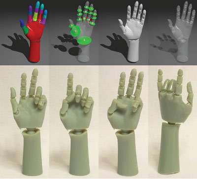 Make your own action figures with a 3-D printer