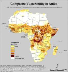 Mapping the future of climate change in Africa