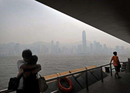 Measurements in some Hong Kong districts indicate that pollution levels are 10 times worse than in 2005