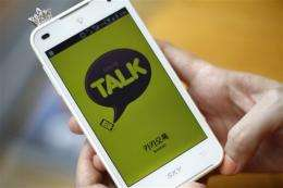 Messaging apps show mobile Internet's rise in Asia
