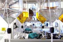 Microreactors to produce explosive materials