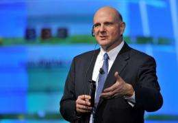 Microsoft chief executive Steve Ballmer predicts the cloud computing market will become dominated by a few big players