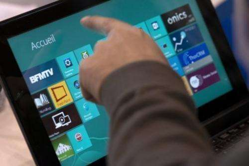 Microsoft released new operating system Windows 8 worldwide on October 26