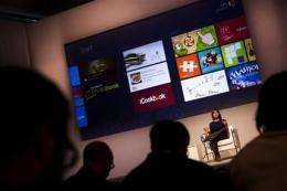 Microsoft unveils Windows 8 for consumer testing (AP)
