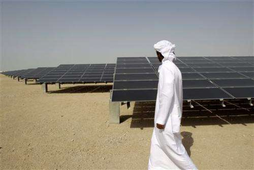 Middle East beginning to embrace solar energy