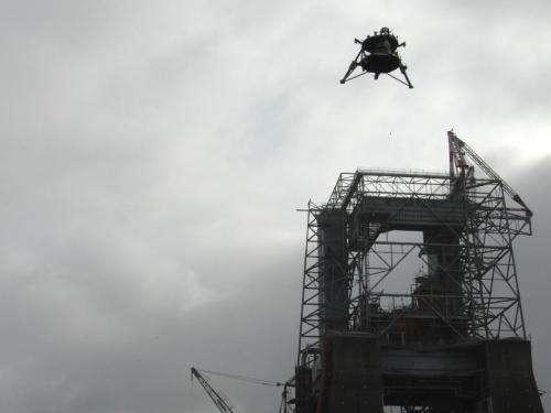 'Mighty Eagle' lander aces major exam