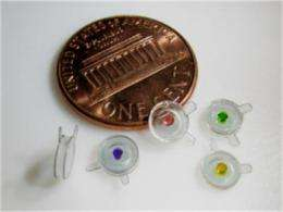 Miniature pressure sensors for medical touch