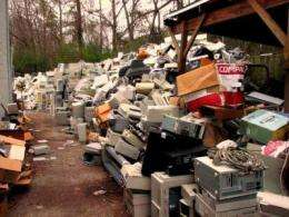 More than 70% of electronic waste management is uncontrolled