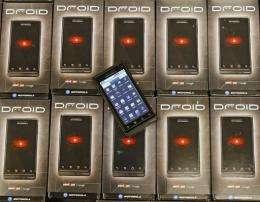 Motorola's Droid smartphone