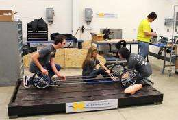 Mowing down the competition: Supermileage Team aims to break fuel barriers
