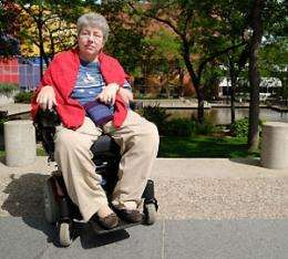 Mobility key to quality of life for MS sufferers
