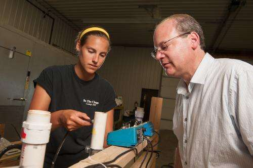 MSU prof helps devise method of removing phosphorous from wastewater