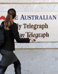 Murdoch's flagship national daily The Australian went behind a paywall late last year