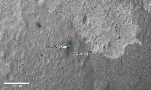Nasa Curiosity team pinpoints site for first drive