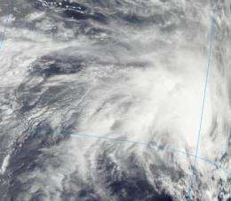 NASA eyes cyclone Iggy's threat to western Australia