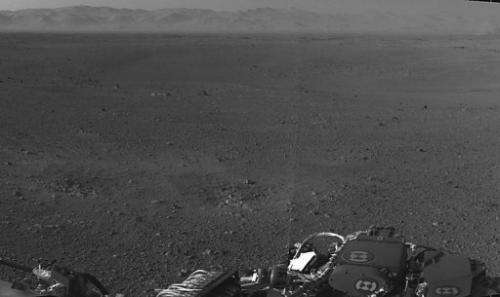 NASA released a low resolution black and white panoramic images on Wednesday