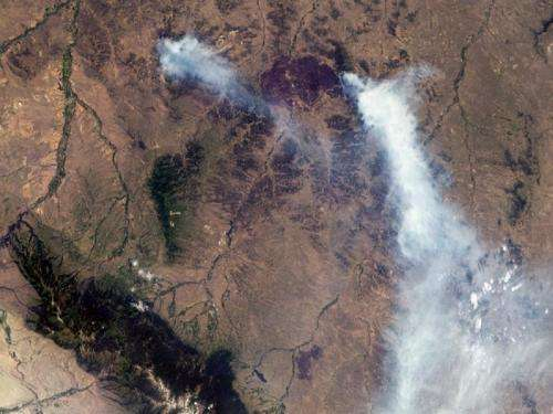 NASA scientist: Climate just one factor in wildfires