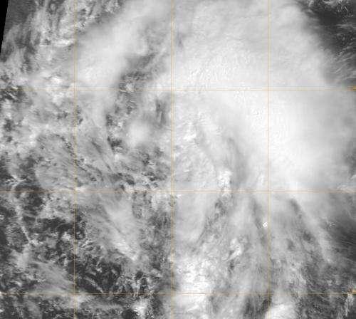 NASA sees fifteenth Atlantic tropical depression born