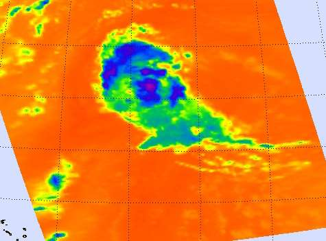 NASA sees System 93L explode into Tropical Storm Gordon